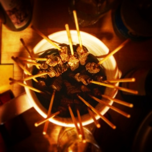 arrosticini di Rostelle & Co. famelica foodblog