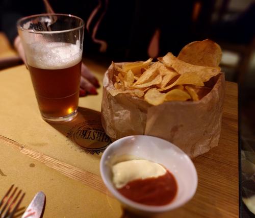 Patatine e Ketchup artigianali - Birstrò al Pigneto by famelica